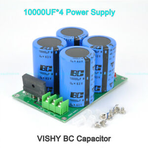 10000UF-4-DC-Power-Supply-Rectified-amp-Filterred-Preamp-Amplifier-VISHAY-BC-Cap
