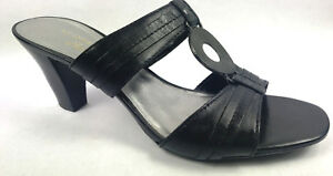 203912c1b778 AK Anne Klein   shoes Size 7 Pre-owned Color Black-Silver