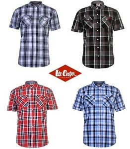 f800d28f81559 Caricamento dell immagine in corso CHEMISE-HOMME -LEE-COOPER-MANCHES-COURTES-S-M-L-XL-