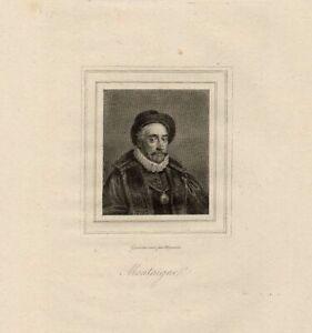 Portrait-de-Michel-DE-Montaigne-Gravure-originale-XIXeme-siecle
