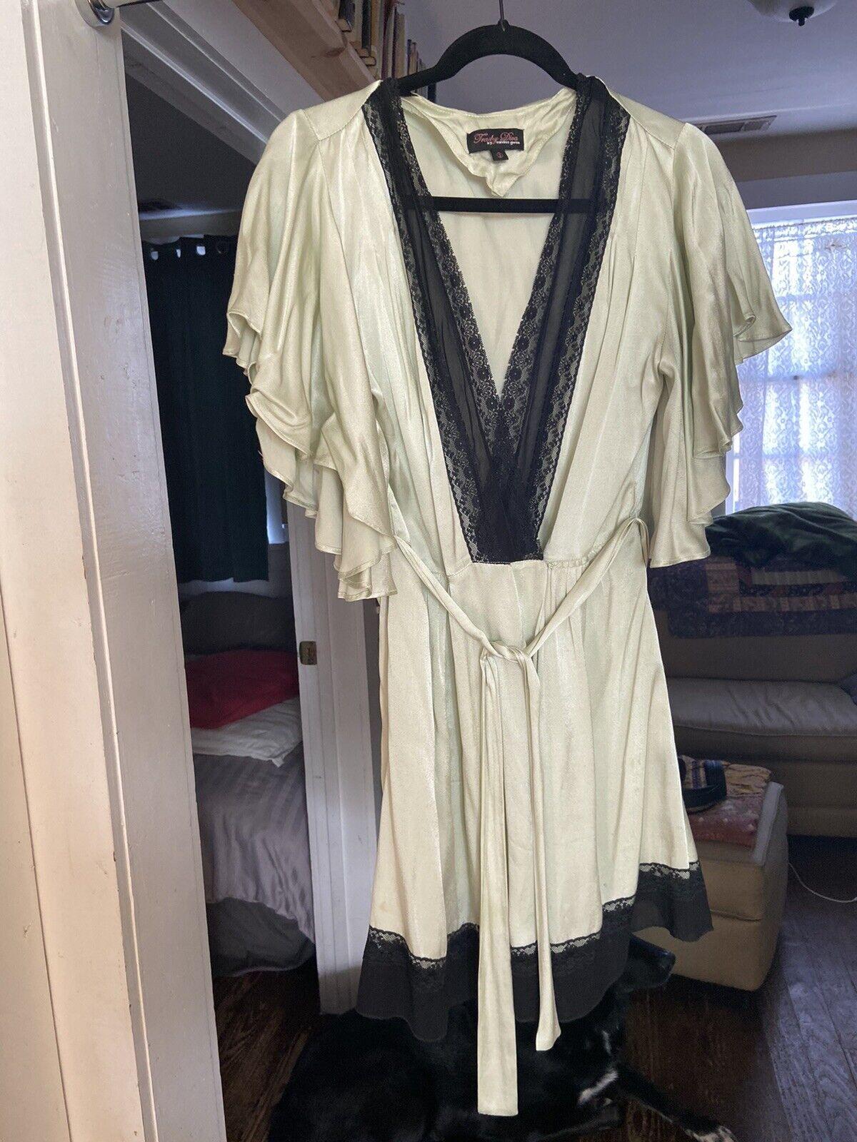 Trashy Diva Pin-Up Robe Size S - image 2