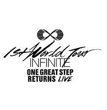 K-POP INFINITE One Great Step Returns Live Album (2CD) Sealed Music CD