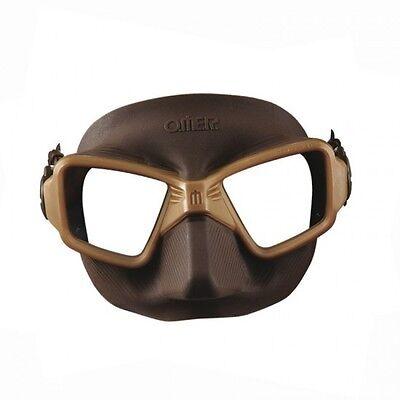Omer Zero 3 Mask Silicone Mud Low Volume/Freediving Spearfishing 02UK