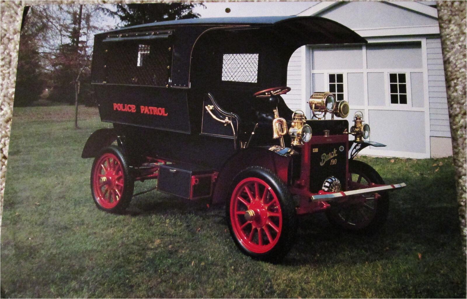 "1910 : Flint Police Order First ""Paddy Wagon"""
