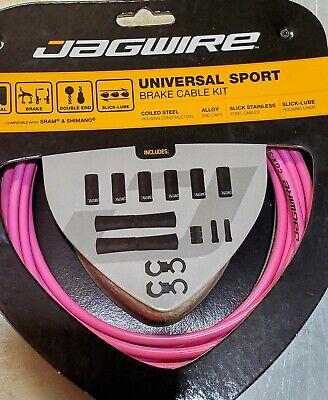 New Jagwire Universal Sport Brake Cable Kit Ice Gray