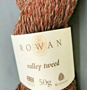 Rowan Valley Tweed Lot T30579 50g  skeins 00101 Malham