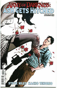 ARMY-OF-DARKNESS-Ash-Gets-Hitched-3-VF-NM-Bruce-Campbell-2014-more-in-store