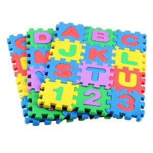 36PCS Alphabet Foam Mat Educational Toys Puzzle Floor Mat for Bedroom Playing