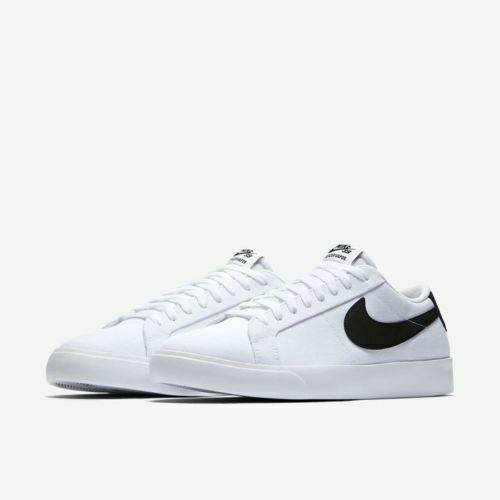 Size 9 - Nike Blazer Vapor Textile SB White Black for sale online ...