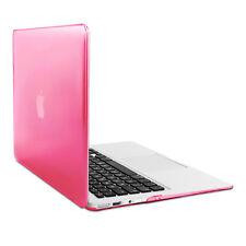 "kwmobile Hard Cover für Apple MacBook Air 13"" (ab Mitte 2011) Pink Transparent"