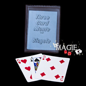 Three card monte Bicycle - Magie - Bonneteau