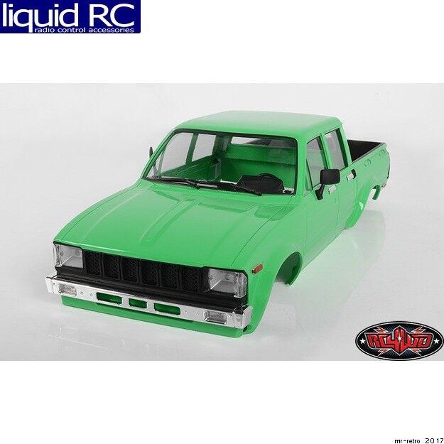 RC 4WD Z-B0207 Rc4wd Mojave Ii Four Door completare corpo  Set (verde)  godendo i tuoi acquisti