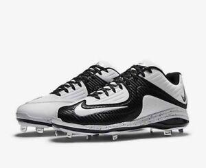 8 Nike Details Black White 5 Ii Men's About Mvp Baseball Size Air Cleats Pro Metal 5RL4Aj