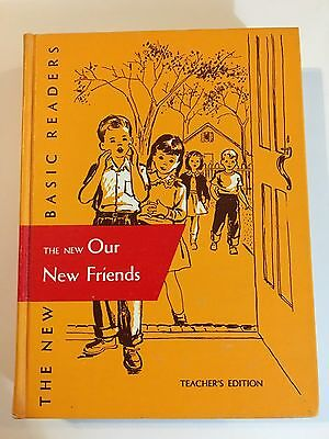 UNUSED 1956 DICK AND JANE TEACHER EDITION Our New Friends VTG reader school book