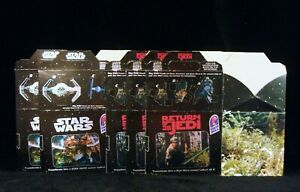 Star Wars Trilogy SE Taco Bell Unused Kids Meal Box Set 1996