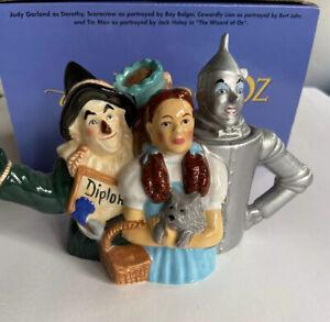 Wizard-of-Oz-Mini-Teapot-Open-Box-RARE-Vtg-Vintage-From-Warner-Bro-s-Store