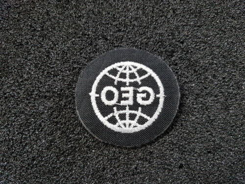 Abzeichen Frühe Bundeswehr Mil GEO Heer Abzeichen Patch A18-19