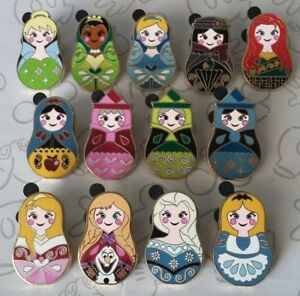 1604c512 Image is loading Nesting-Dolls-Mystery-Pack-Princess-Disney-Trading-Pin-