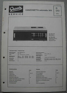ITT-GRAETZ-Canzonetta-Automatic-303-Service-Manual