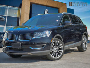 2017 Lincoln MKX Reserve LEATHER! PANORAMIC SUNROOF! NAVIGATION