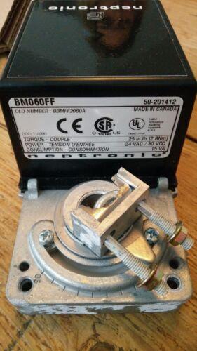 lb. environ 63.50 cm Neptronic actionneur BM060FF//bbmff 2060 A 24 VAC 30 VDC 25 in 2,8 Presque comme neuf