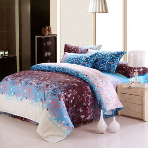 Fitted Bed Sheet Set California King Queen Ebay