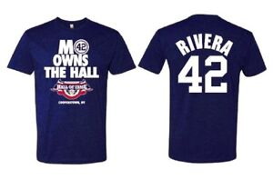 5e9060813a2767 Mariano Rivera T-Shirt - Hall of Fame T-Shirt - MO OWNS THE HALL