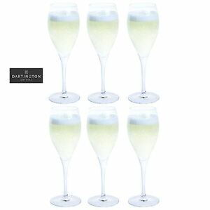 Dartington-Crystal-boisson-Ensemble-de-6-Prosecco-brillant-verres-a-vin-260ml
