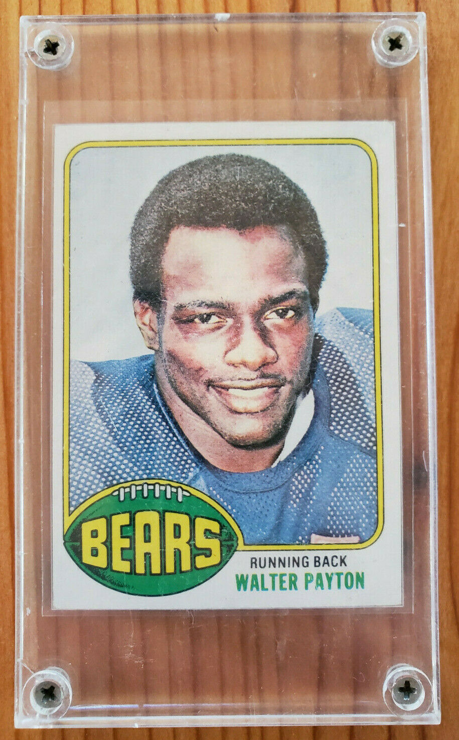 1976 Topps Walter Payton Rookie Chicago Bears 148 Football Card Excellent