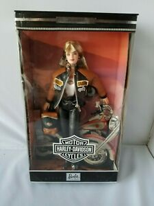 Harley-Davidson-Barbie-Mattel-1999-Vintage-Collector-Edition-New-In-Box-Doll-Toy