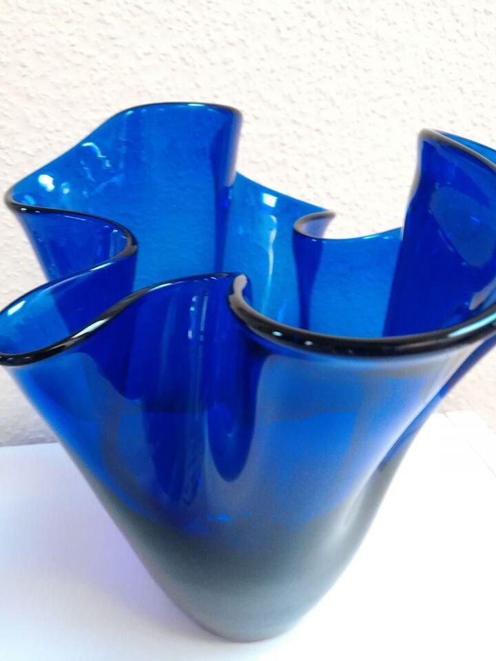 Vase, Tulipanvase., Holmegaard