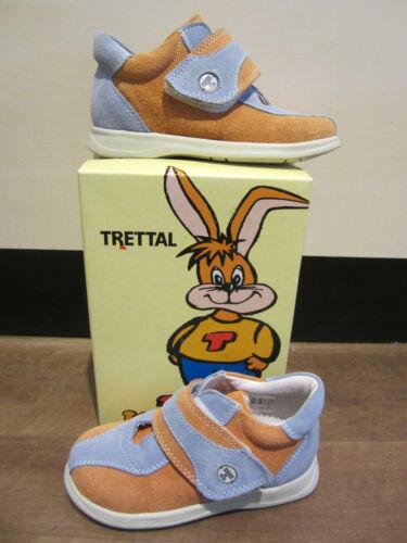 Details about  /Trettal Mädchen-ll-stiefel Orange//Light Blue Leather Footbed New