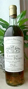Chateau-Rabaud-Promis-1964-0-75l-200-L-55-Jahre-alt-Suser-Wein-aus-Bordeaux