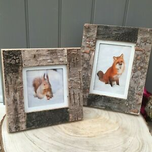 Natural-Bark-Photo-Frames-Large-and-Small-Rustic-Frames