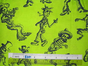Choose-design-Halloween-ghost-skeleton-cotton-quilting-fabric-size