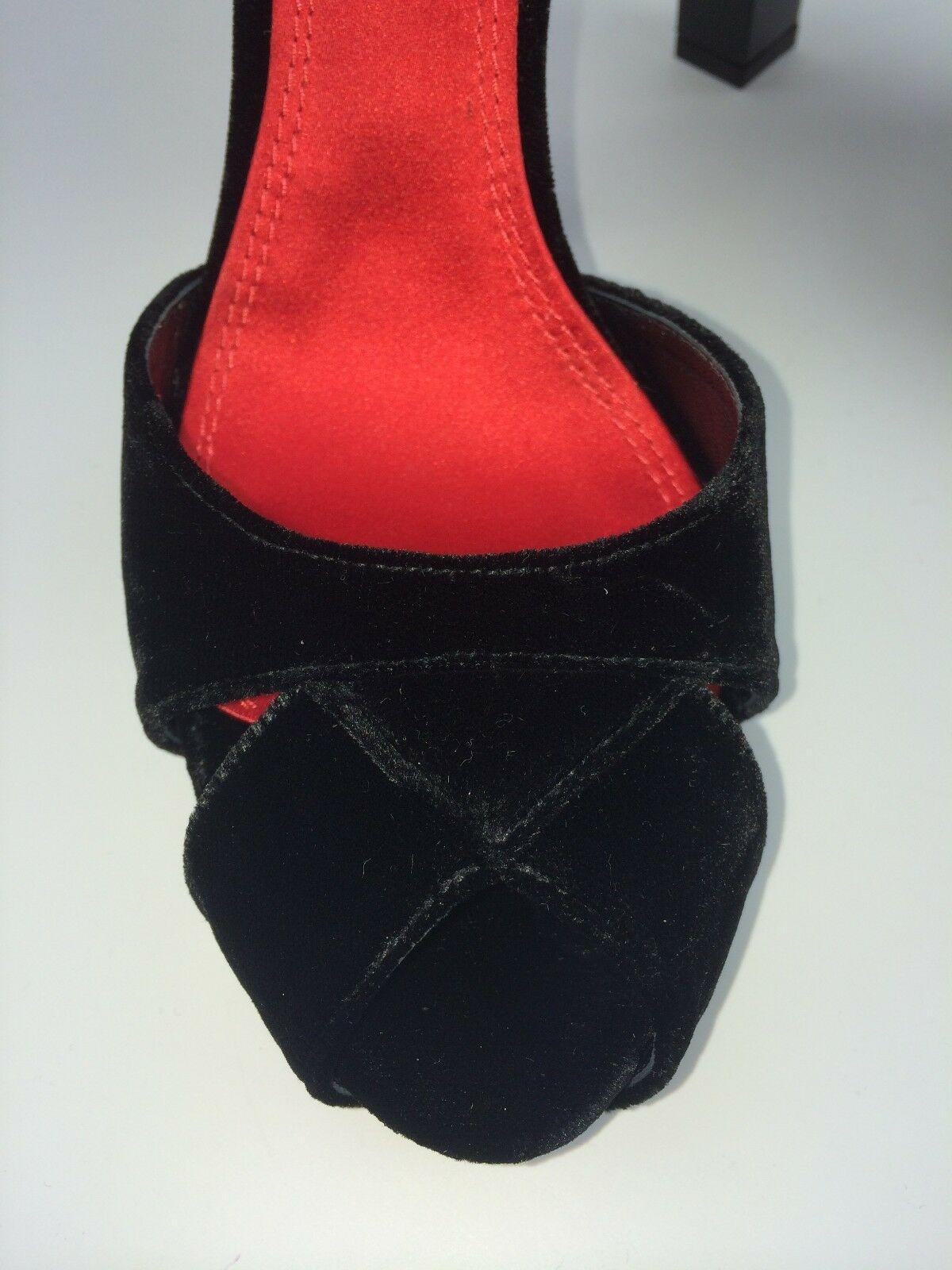 Ralph Velour Lauren Velour Ralph Dress Lacquer Heel Sandals size 9. Retail  650 aff6dd