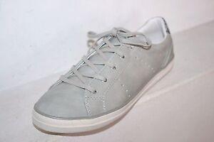 Dockers-Baskets-Femmes-Gris-Clair-Chaussures-Espadrilles-Basses