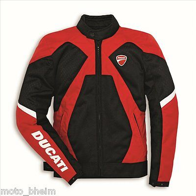 DUCATI Spidi Jacket Summer 2 Motorcycle Textile NEW perforated