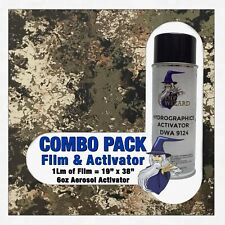 Hydrographic Film Activator Veil Wideland Camo Hydro Dip Dipping Wizard