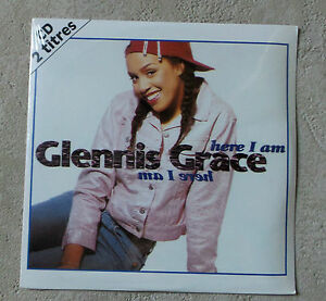 CD-AUDIO-INT-GLENNIS-GRACE-034-HERE-I-AM-034-CD-2T-PROMO-NEUF-1995-ONLY-1-ON-EBAY