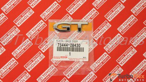 Toyota Celica GT 00-05 Genuine OEM Back Door Name Plate GT Emblem 75444-2B430