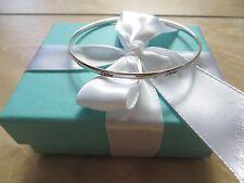 New Tiffany & Co. Paloma Picasso Sterling Red Enamel Love Bangle Bracelet.