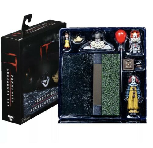NECA Pennywise The Dancing Clown IT Accessories Set Brand New In Stock