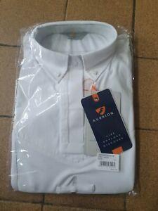 "Aubrion Long Sleeve Tie Show Shirt UK 8 10 34"" XS"