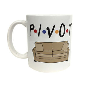 Image Is Loading Pivot Coffee Mug Friends Sofa Couch Rachel Ross