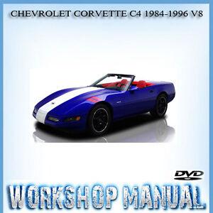 chevrolet corvette c4 1984 1996 v8 workshop service repair manual in rh ebay com au C5 Corvette corvette c4 service manual download