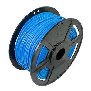 Blue 3d Printer Consumables Imported From Abroad Wyzworks 3d Printer Premium Pla Soft Flexible Filament 3.00mm 1kg/2.2lb