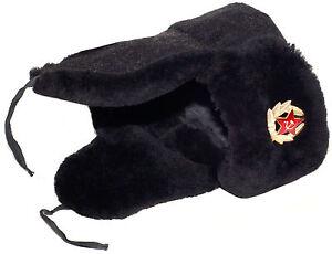 dd6b710efd1f3 Image is loading Navy-officer-of-Russia-mouton-sheepskin-ushanka-hat-