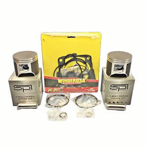 81mm-Std-SPI-Pistons-Haut-Fin-Joints-2009-2010-Polaris-700-Rmk-Motoneige