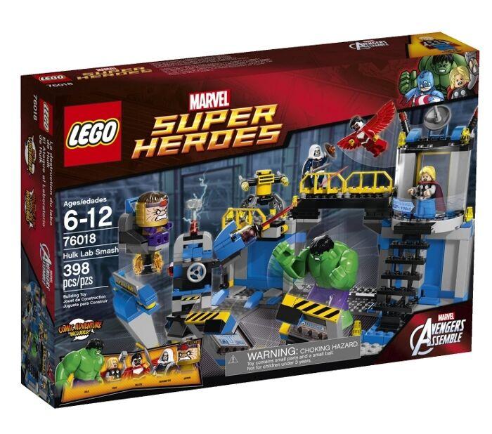 LEGO 76018 - Super Heroes: Avengers - Hulk Lab Smash - NEW